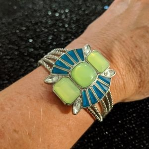 Lia Sophia retro cuff bracelet